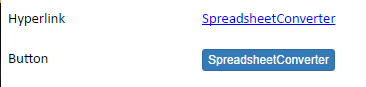 Screenshot of an example of the Hyperlink widget