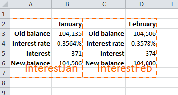 Repeat row headings for large tables